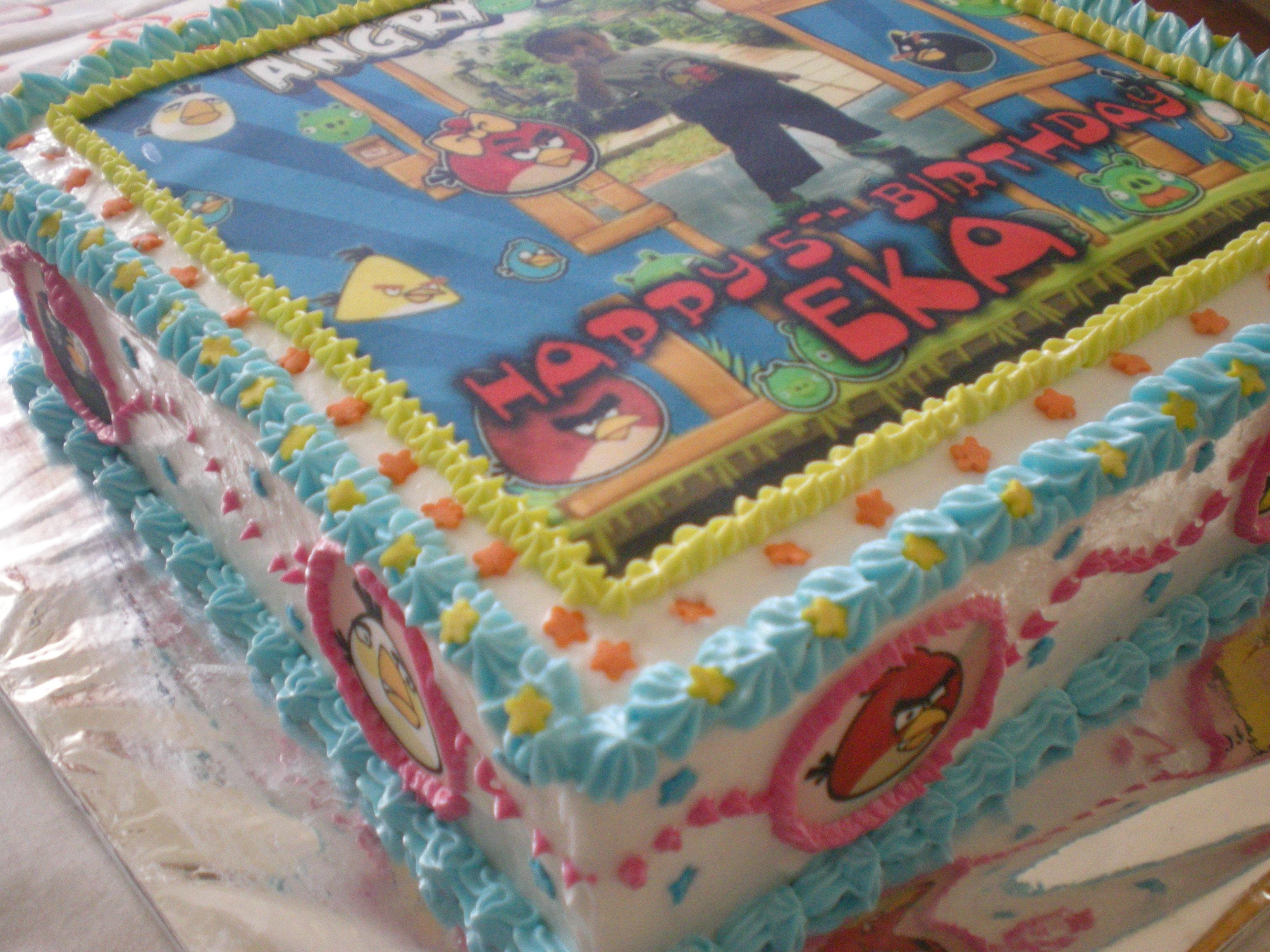 Kue Ulang Tahun dengan foto – Product by Dapur Cetta